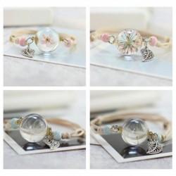 """Bracelets """"Ma petite fleur"""" coulissant"""